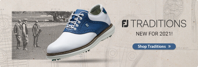 New for 2021 Footjoy Traditions Golf Shoes