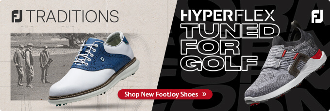 New for 2021 Footjoy Traditions and HyperFlex Golf Shoes