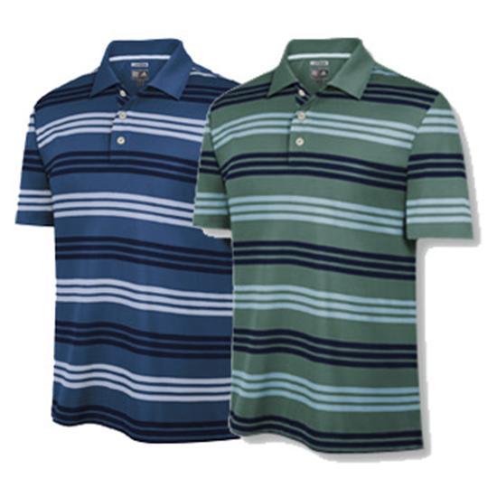Adidas Men's ClimaCool Micro Three Stripe Polo