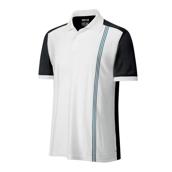 Adidas Men's ClimaCool Vertical Engineered Stripe Polo