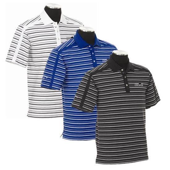 Callaway Golf Men's Chev Links of Utopia Logo Stripe Polo
