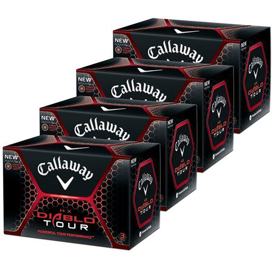 Callaway Golf HX Diablo Tour Golf Balls - Buy 3 DZ get 1 DZ Free