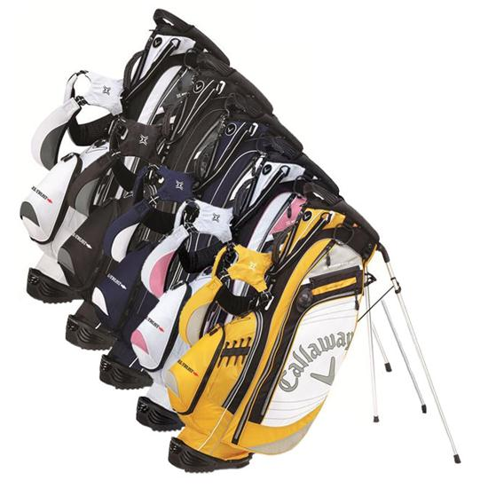Callaway Golf Hyper-Lite 4.5 Linear See Feel Trust Stand Bag