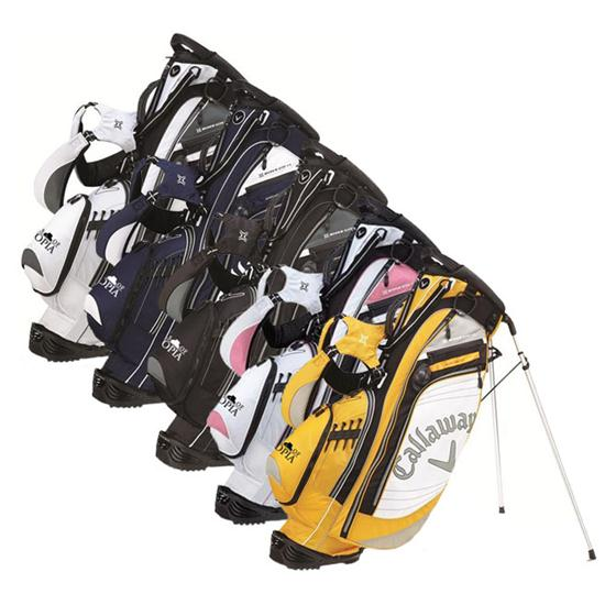 Callaway Golf Hyper-Lite 4.5 Links of Utopia Logo Stand Bag