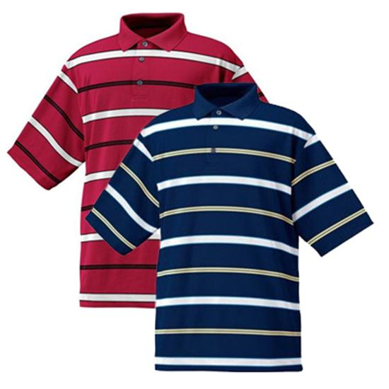 FootJoy Men's Stretch Pique Jersey Stripe Shirt