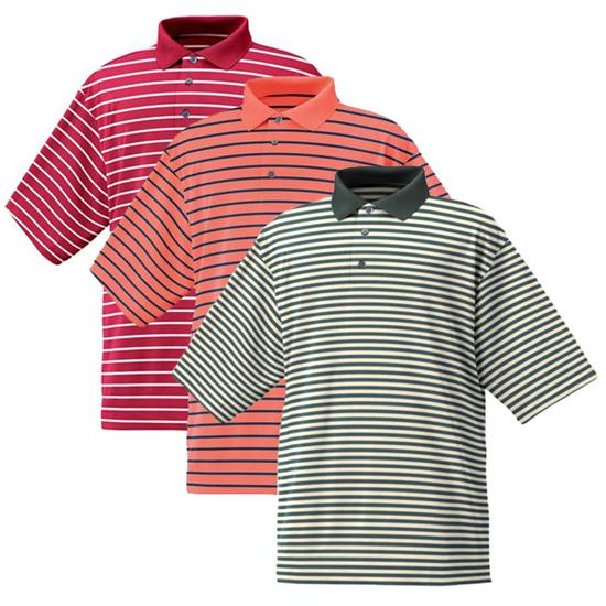 FootJoy Men's Stretch Pique Stripe Shirt