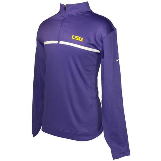 Nike Men's 1/2- Zip Therma-Fit Cover-Up - LSU