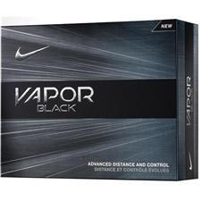 Nike Vapor Black Personalized Golf Balls