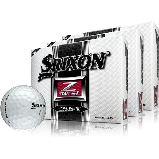 Srixon Z Star SL Golf Balls - Buy 2 DZ Get 1 DZ Free