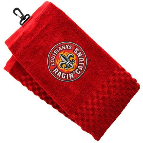 Team Golf Collegiate Embroidered Tri-Folded Towel - UL