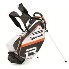 Taylor Made R1 Stand Bag - White/Orange/Charcoal