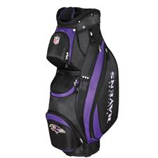 Wilson NFL Cart Bag - Baltimore Ravens