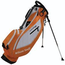 Wilson Staff Feather SL Carry Bag - Orange/White