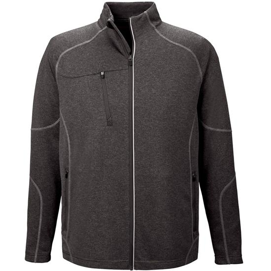 North End Men's Contrast Stitch Performance Jacket