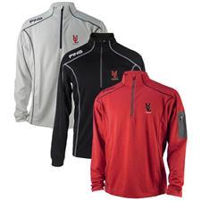 PING Men's Ranger 1/4 Zip Layering Pullover - UL Lafayette