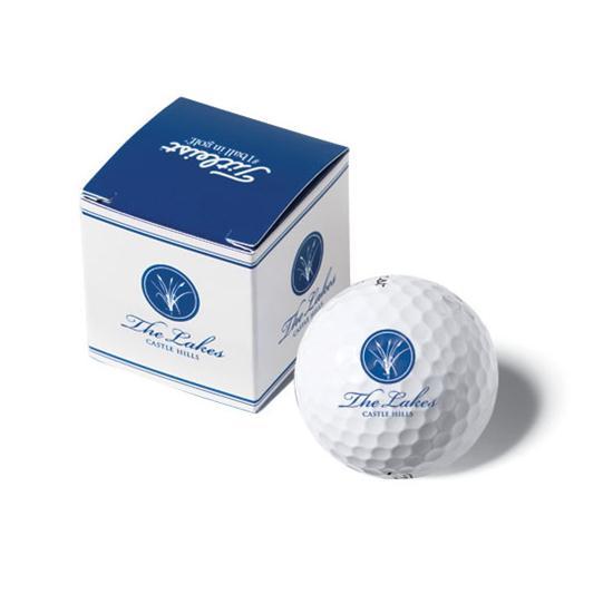 Titleist PackEdge Custom 1-Ball Box