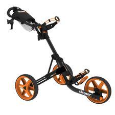 Clicgear Model 3.5+ Golf Push Cart - Charcoal/Orange