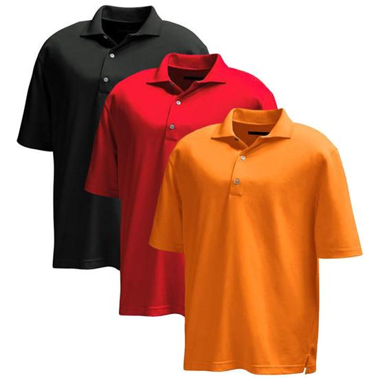 Greg Norman Men's Performance Micro Pique Polo