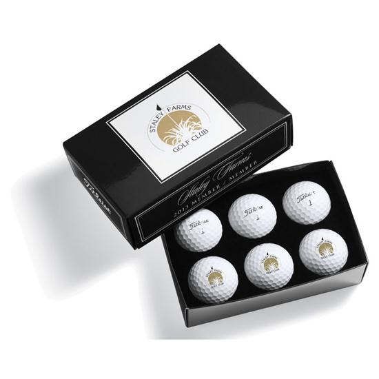 Pinnacle Tournament Half Dozen Golf Balls