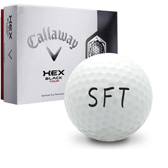 Callaway Golf Hex Black Tour SFT Logo Golf Ball