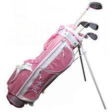 Merchants of Golf Pink Junior Golf Set