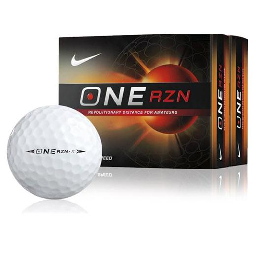 Nike One RZN X Golf Balls - Double Dozen