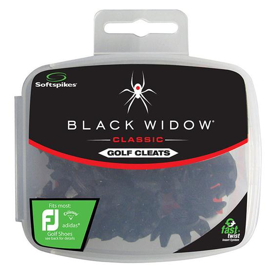 Softspikes Black Widow Classic Fast Twist Golf Spikes