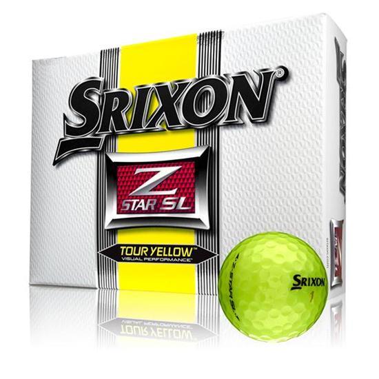 Srixon Z Star SL Tour Yellow Golf Balls