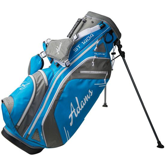 Light Stand Golf Bag: Light Blue Golfballs.com