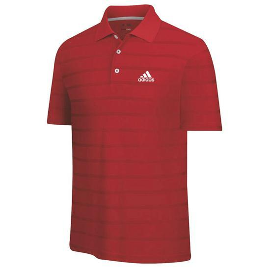 Adidas Men's Tour ClimaCool Textured Solid Polo
