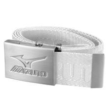 Mizuno Webbing Belt  - White - One Size Fits Most