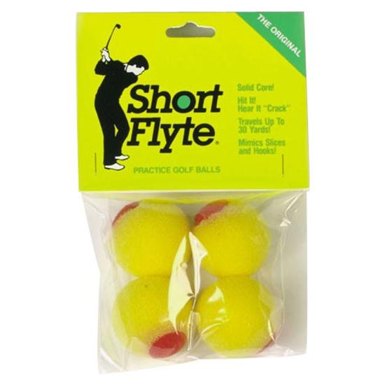 OnCourse Short Flyte Practice Balls - 4 Pack