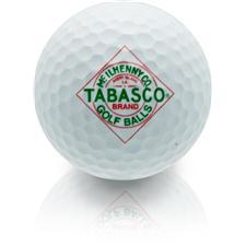 TABASCO Brand Diamond Label Design Golf Balls