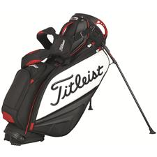 Titleist Staff Stand Bag - Black/White/Red