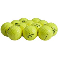 Callaway Golf HEX Warbird Yellow Logo Overrun Golf Balls
