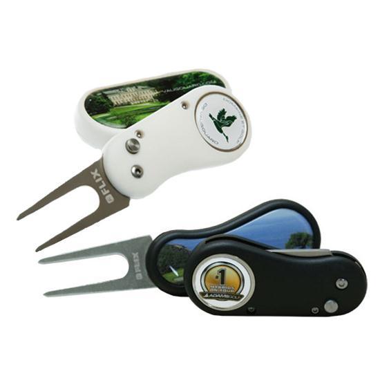 Logo Golf Flix DS Divot Tool