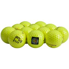 Pinnacle Gold Yellow Logo Overrun Golf Balls