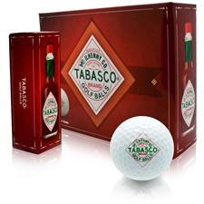 TABASCO Brand Golf Balls - White