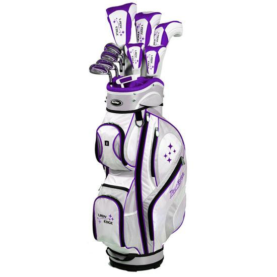Tour Edge Lady Edge All Graphite Full Package Set for Women