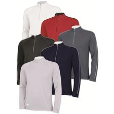 Adidas Men's 3-Stripes Piped 1/4 Zip Pullover
