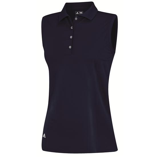 Adidas Climalite Sleeveless Solid Polo for Women