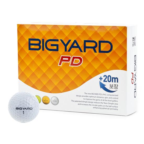 BigYard PD 2 Piece Golf Balls