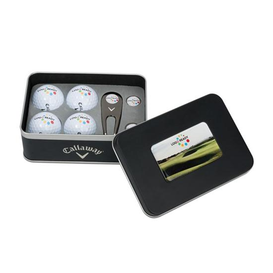 Callaway Golf 4-Ball Gift Set