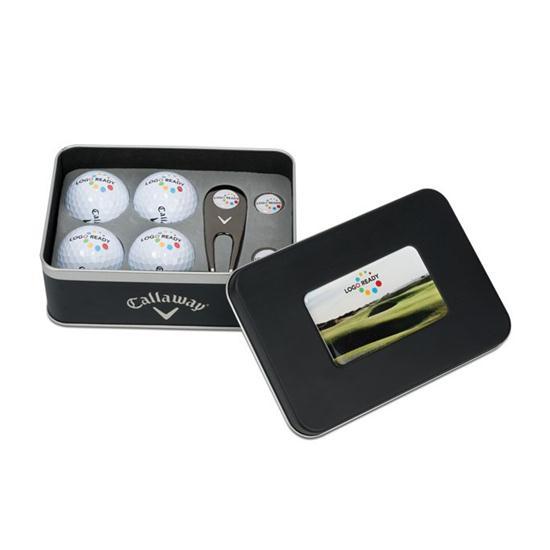Callaway Golf 4-Ball Gift Set