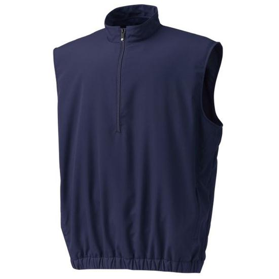 FootJoy Men's Half-Zip Custom Logo Windshirt Vest