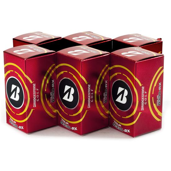 Bridgestone B330-RX Dozen Golf Balls in 2-Ball Sleeves - 2013
