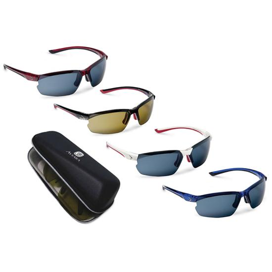 Callaway Golf Sport Series Fairway Sunglasses with Custom Case
