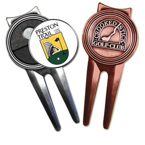 Logo Golf Boss Divot Tool