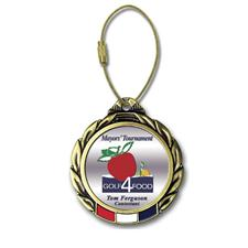 Logo Golf Color Magic Custom Bag Tag