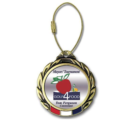 Logo Golf Color Magic Custom Bag Tag